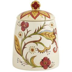 Carynthum Cookie Jar *wish I could find canisters like this!jn