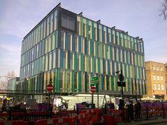 Location: 321 Whitechapel Road, London E1 1BU, England Architect: David Adjaye Built: 2005  Libraries of London Architectural Record