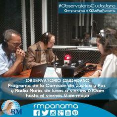"""""""Observatorio Ciudadano"""", hoy con invitado especial Edgardo Molino Mola ex-Magistrado de la Corte Suprema de Justicia."""