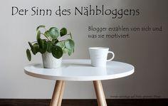Sonntagsrunde zum Sinn des Nähbloggens - Betty von Staharbeit erzählt