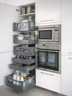 Una buena idea para tener la cocina ordenada: