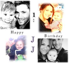 'Danneel really liked Justice and we picked Jay because everyone calls me Jay, and we call her JJ'-- May 30, one year old :)