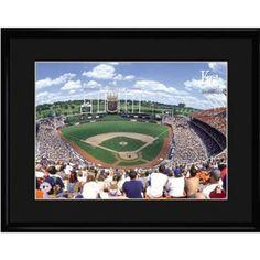 Kansas City Royals MLB Kauffman Stadium Limited Edition Lithograph