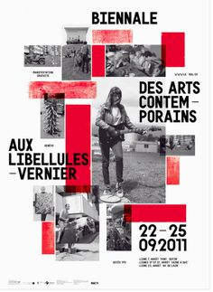 Vanja Golubovic (Berlin / Geneva)  Identity, poster, and wayfinding for BAL (biennale des arts contemporains aux libellules), a transdiciplinary art biennial in Vernier, Switzerland
