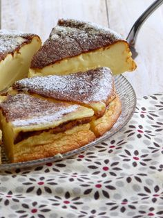 GATEAU MILLASSON (gascon-style flan) ~~~ while this egg custard dish is traditionally made with corn flour, wheat flour is an accepted substitute. French Desserts, No Cook Desserts, Cake Recipes, Snack Recipes, Sweet Pastries, Seafood Dishes, Vegan Snacks, Desert Recipes, Queso