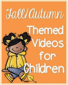 So many videos for the classroom or home about fall Autumn. Fall-Autumn Videos Clever Classroom blog