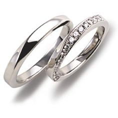 Simple Wedding Rings on Awesome Wedding Ring With Simple Style