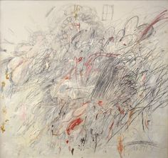 Short blurb about Cy Twombly