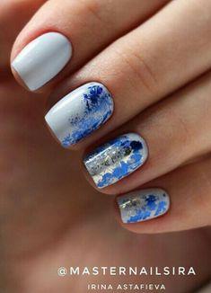Teal Nails, Silver Roses, Beauty Nails, Hair And Nails, Hair Makeup, Make Up, Nail Art, Nails Turquoise, Makeup