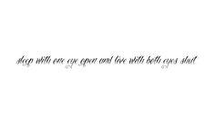 one of my fave Thrice lyrics