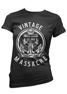 Vintage Massacre Anker Girl von VintageMassacre2010 auf Etsy