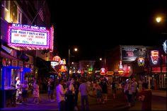 Thomann on Tour - Trip to Gibson USA: Beale Street in Memphis #thomann #OnTour #gibson