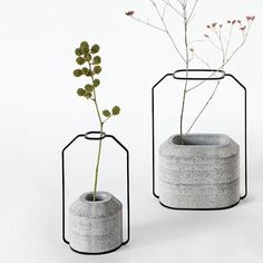 INSPI VASE DESIGN - WEIGHT VASES - THINKK STUDIO