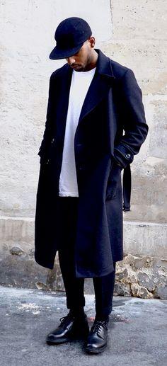 Cashmere Robe Coat, Urban Street Style, via LES FRERES JOACHIM, Men's Fall Winter Fashion.