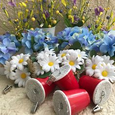 Just added a new lot of Table Cloth Weights. Perfect for Easter - Outdoor Bridal Showers - Garden Parties - Outdoor Wedding Receptions.