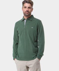 Polo in cotone verde bosco: un colore meraviglioso che starà bene a tutti! www.privalia.com