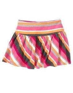 NWT Gymboree PANDA ACADEMY Striped Knit Skirt - Choose Your Size #Gymboree #DressyEveryday
