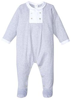 Tartine et Chocolat Unisex Baby Footie, Light Grey, 1Y   Amazon Price: $116.00 $116.00 (as of June 16, 2017 6:09 am - Details). Product prices and Read  more http://shopkids.ca/tartine-et-chocolat-unisex-baby-footie-light-grey-1y/