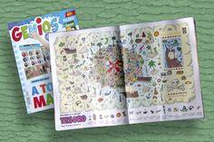 Ilustrador Alexiev Gandman: Buscando en el mapa del tesoro - Revista Genios 94...