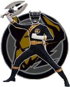 Danny the Black Bison Wild Force Ranger