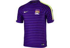 Nike Manchester City Training Top - Club Purple