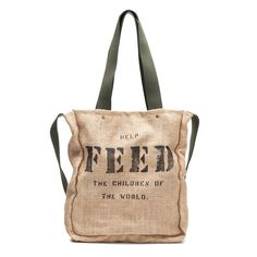Fab.com | FEED 5 Africa Bag Green Black
