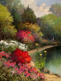 Image detail for -The Colorful Paintings of Kent R. Wallis | apm65