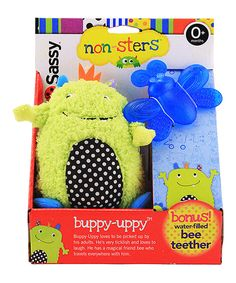 Another great find on #zulily! Non-Sters Buppy Upper Plush & Bee Teether by Group Sales #zulilyfinds