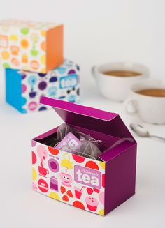 """""""Children's Tea is the perfect choice for the young ones. All ingredients are organic and naturally caffeine-free. Children's Tea comes in three different flavours, Sunny Orange, Red Berries and Wild Berries."""""""