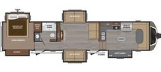 Keystone RV 3820FK - NEW floorplan