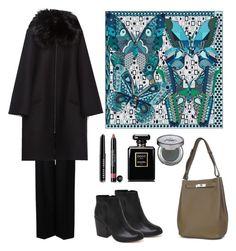 Trip to Milan by terezah on Polyvore featuring Zara, STELLA McCARTNEY, Dolce Vita, Chanel, Bobbi Brown Cosmetics, Urban Decay and Hermès