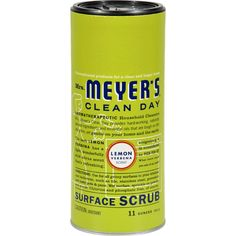 Mrs. Meyer's Surface Scrub - Lemon Verbena - 11 oz