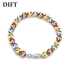 DIFT Ms Japan And South Korea Fashion Light Bead Bracelet
