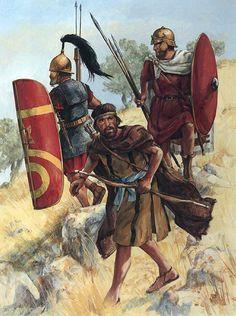Legionario e ausiliari in Medio Oriente, I secolo a.C.