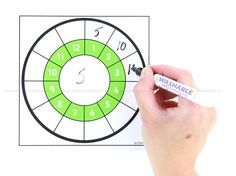 Tafelcirkel, whiteboard Teacher Worksheets, Play To Learn, School Teacher, Whiteboard, Teaching Kids, Homeschool, Classroom, Education, Math