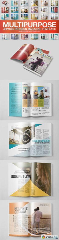 Multipurpose Magazine 4 Template