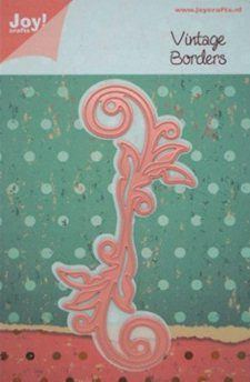 Joy!Crafts mallen 6002/0163 Swirl Vintage 2