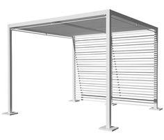 P rgola de aluminio elegance ref 13433035 leroy merlin terrazas pinterest - Pergola de jardin leroy merlin ...