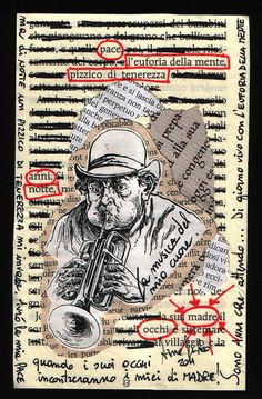 Mail art n. 1/2011 - To De Villo Sloan by Tina Festa