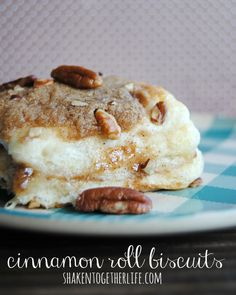 Refrigerated biscuits get a delicious cinnamon roll makeover -