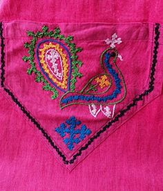 Hand Embroidery, Embroidery Designs, Kutch Work, Vegetable Garden Design, Ankle Bracelets, Blouse Designs, Patches, Stitch, Photo And Video