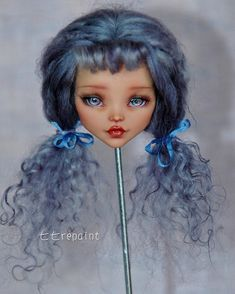 Image may contain: 1 person Custom Monster High Dolls, Monster High Repaint, Custom Dolls, Ooak Dolls, Art Dolls, Pokemon Dolls, Realistic Dolls, Doll Painting, Doll Eyes
