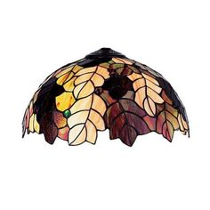 Tiffany glass pendant light with leaf shade. £186.99 http://www.worldstores.co.uk/p/Mullan_Lighting_Tiffany_Glass_Pendant_Light_with_Leaf_Shade.htm