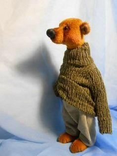 DARREN OOAK artistic teddy bear by Teddydreams-Sieve