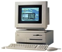 "The second computer that I ever bought. I had 12 MB of RAM and a 15"" monitor on this bad boy."