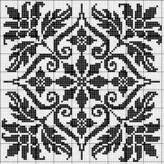 Cross stitch - chart by di gough knitting squares, fair isle knitting patte Knitting Squares, Fair Isle Knitting Patterns, Knitting Charts, Knitting Stitches, Free Knitting, Sock Knitting, Knitting Machine, Loom Patterns, Vintage Knitting