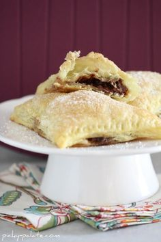 Nutella -  Marshmallow  - Puff Pastry and maybe Powdered Sugar... nuff said.
