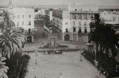 Plaza monjas Street View, Plaza, Antique Photos, Parks, Architecture
