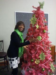 A Pink & Green Christmas- The AKA way!