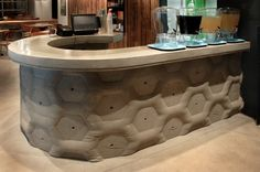 33 best concrete fabric formed images on pinterest for Concrete craft colorado springs